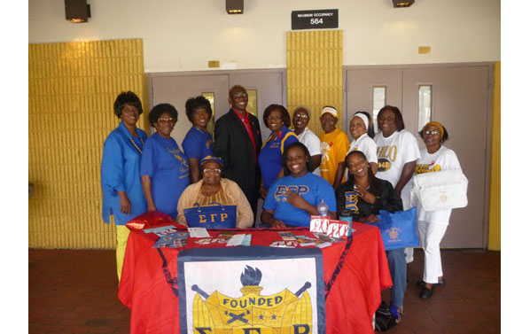Picture of Sigma Gamma Rho members