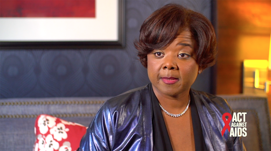 Sharon Lettman Hicks tells us about why she's #DoingIt, and the importance of HIV testing.