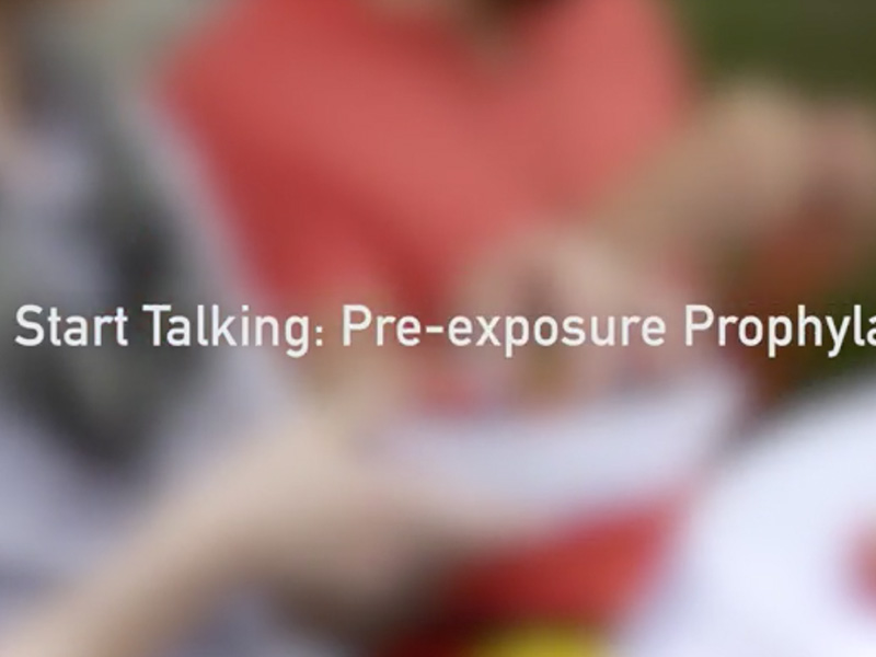 Start Talking. Stop HIV. PrEP
