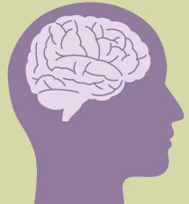 Clip art of human brain