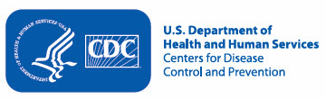U.S. Department of Health and Human Services logo; Centers for Disease Control and Prevention logo