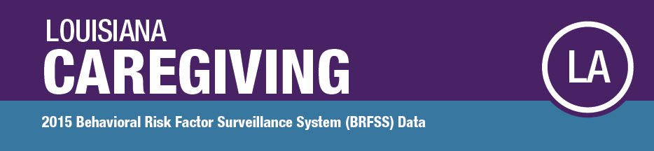 Louisiana Caregiving; 2015 BRFSS Data