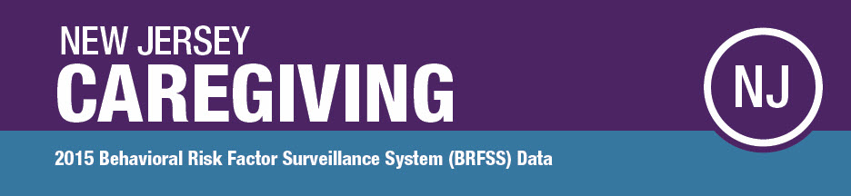 New Jersey Caregiving - 2015 BRFSS Data
