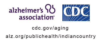 Alzheimer's Association and CDC logo