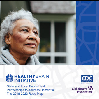 2018-2023 Healthy Brain Initiative Road Map cover