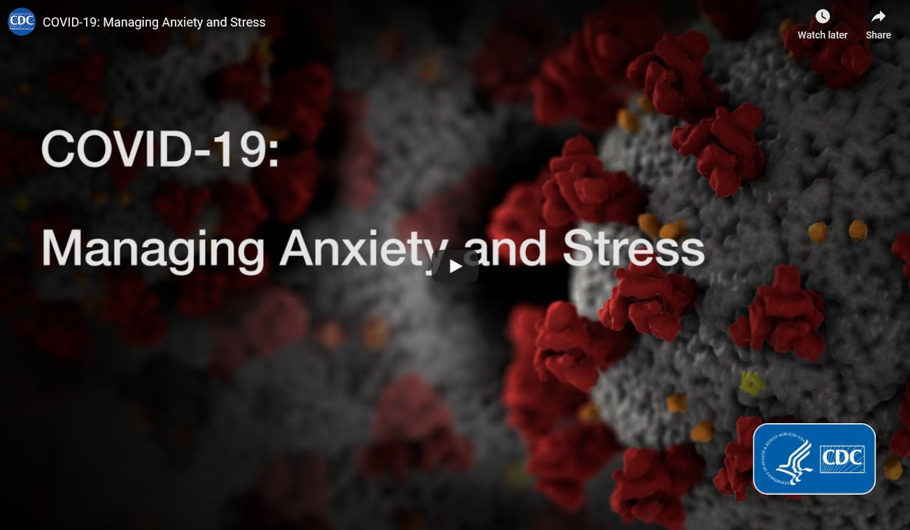 Managing Anxiety and Stress
