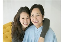 Two Asian women