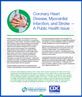 Coronary Heart Disease, Myocardial Infarction, and Stroke - A Public Issue brief cover
