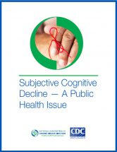 Subjective Cognitive Decline Cover