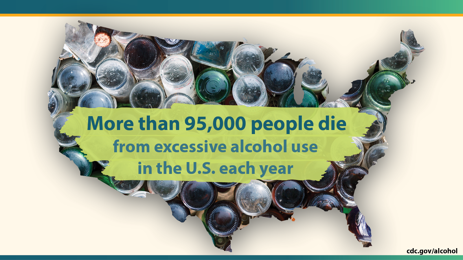 More than 95,000 people die from excessive alcohol use in the U.S. each year