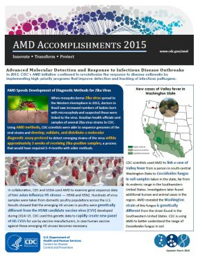 front page of the 2015 amd accomplishment document