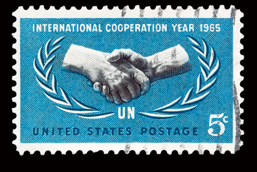 US stamp of 1965 UN Cooperation