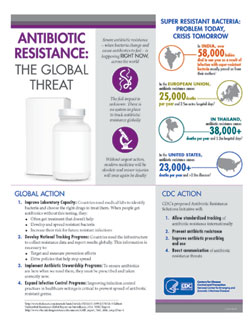 Antibiotic resistance the global threat