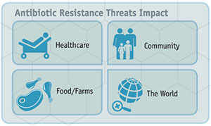 Antibiotic Resistance threats impact