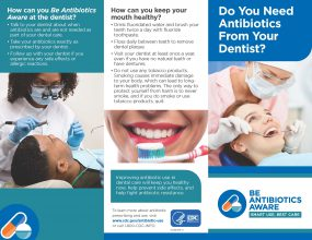 Do You Need Antibiotics From Your Dentist?