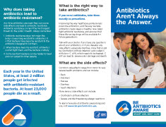 Antibiotics aren't always the answer