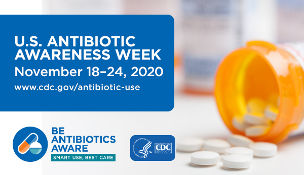 U.S. Antibiotic Awareness Week button