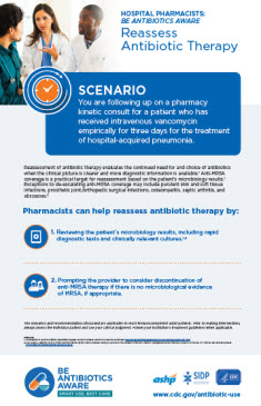Reassess Antibiotic Therapy