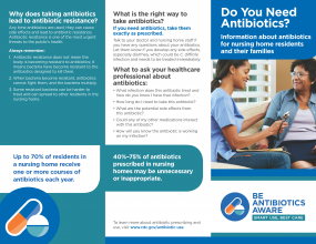 Antibiotics Nursing Home brochure
