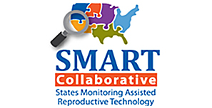 Image of the SMART logo. SMART Collaborative. States Monitoring Assisted Reproductive Technology