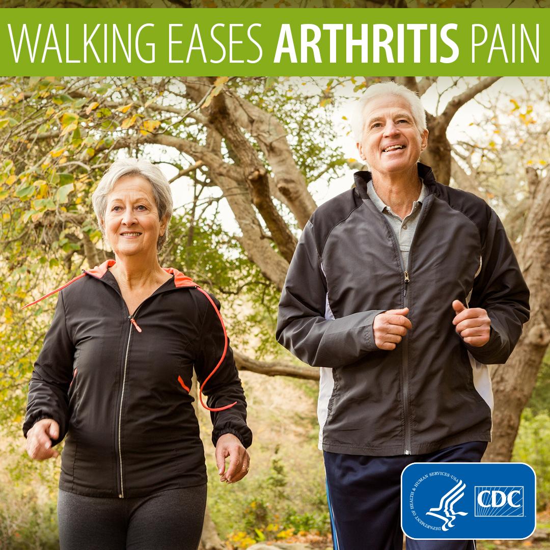 Walking eases arthritis