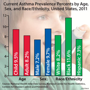 Current Asthma Prevalence