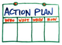 icon pf an action plan