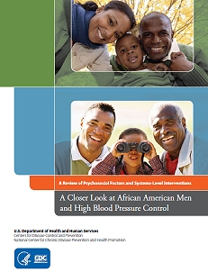 African American Men and High Blood Pressure Control cover.