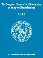 The Surgeon General's Call to Action to Support Breastfeeding 2011 cover page