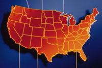 Image of the US Map
