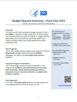 FY 2015 Budget Request Summary and Detail Table