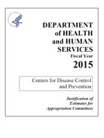 FY 2015 CDC Congressional Justification