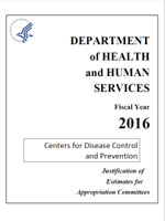 FY 2016 CDC Congressional Justification