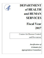 FY 2017 CDC Congressional Justification
