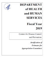 Fiscal Year 2019 CDC Congressional Justification