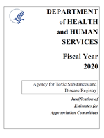 FY 2020 ATSDR Congressional Justification