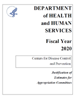 FY 2020 CDC Congressional Justification