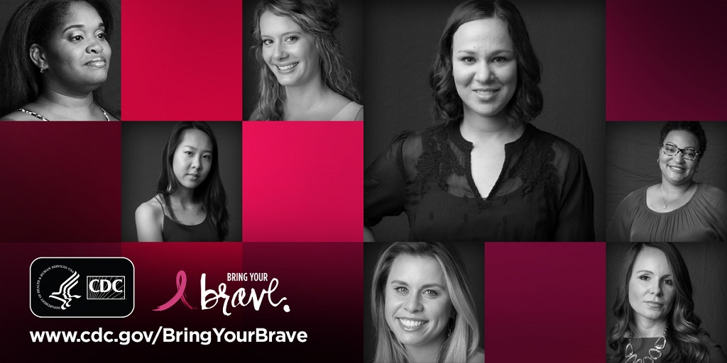 bring your brave collage with differnt women