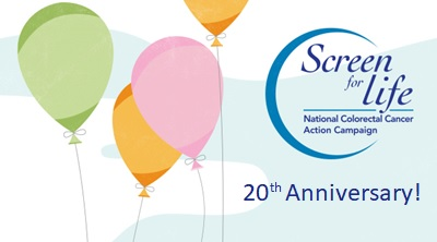 Screen for Life: National Colorectal Cancer Action Campaign twentieth anniversary