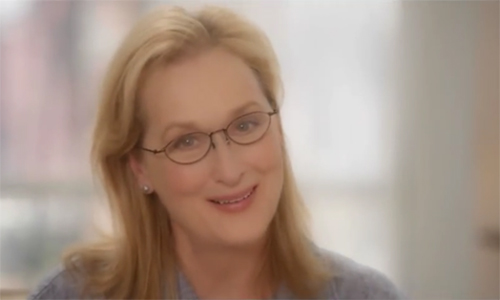 Photo of actress Meryl Streep