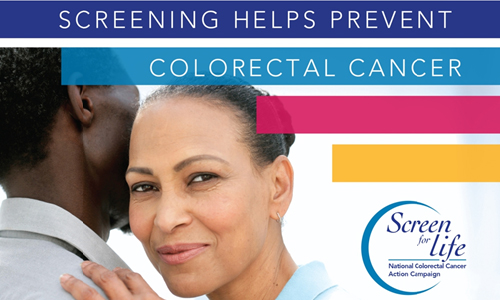 Screening Helps Prevent Colorectal Cancer Flyer