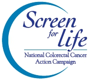 Screen for Life: National Colorectal Cancer Action Campaign logo