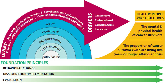 Public Health Action Model for Cancer Survivorship