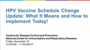 HPV Vaccine Schedule Change Update: What It Means and How to Implement Today!