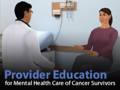 Provider Education for Mental Health Care of Cancer Survivors