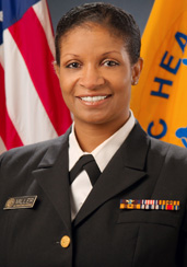 Photo of Captain Jacqueline Miller, MD