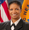 Photo of Captain Jacqueline Miller, MD, FACS.