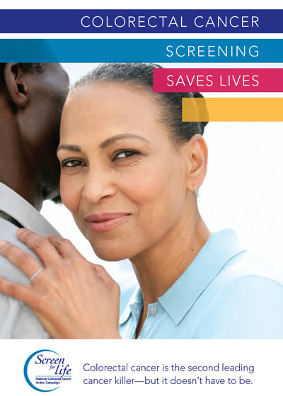 Colorectal cancer screening saves lives. Colorectal cancer is the second leading cancer killer, but it doesn't have to be.