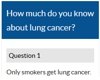 Lung cancer quiz