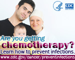 Are you getting chemotherapy? Learn how to prevent infections button